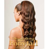 NEW BORN FREE Synthetic Drawstring Ponytail: 0325  MONICA D/S