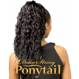 NEW BORN FREE Synthetic Drawstring Ponytail: 0326 MISHA D/S