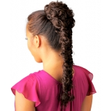 NEW BORN FREE Synthetic Drawstring Ponytail: 0330 LORI D/S (Braided)