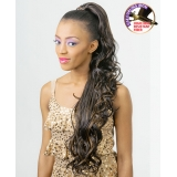 NEW BORN FREE Synthetic Drawstring Ponytail: 0335 ELIZABETH D/S
