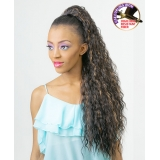 NEW BORN FREE Synthetic Drawstring Ponytail: 0336 VICTORIA D/S