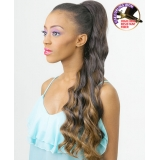 NEW BORN FREE Synthetic Drawstring Ponytail: 0337 GRACE D/S