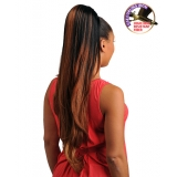 NEW BORN FREE Synthetic Drawstring Ponytail: 0338 JEN D/S