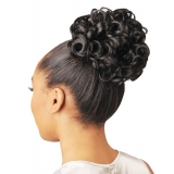 NEW BORN FREE Synthetic Drawstring Ponytail: 0341 FLOWER D/S