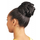 NEW BORN FREE Synthetic Drawstring Ponytail: 0342 TWISTER D/S