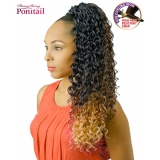 NEW BORN FREE Synthetic Drawstring Ponytail: 0343 SHANI D/S