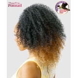 NEW BORN FREE Synthetic Drawstring Ponytail: 0345 ROWLAND D/S