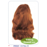 NEW BORN FREE 100% Human Hair Ponytail: 3/4FALL A/H
