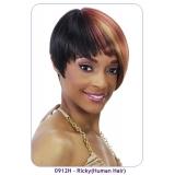 NEW BORN FREE 100% Human Remi Wig: 0912H RICKY