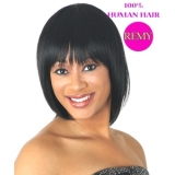 NEW BORN FREE 100% Human Remi Wig: 0916H GOLDY