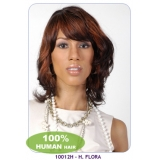 NEW BORN FREE 100% Human Hair Wig: 10012H H. FLORA
