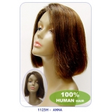 NEW BORN FREE 100% Human Hair Wig: 1125H ANNA
