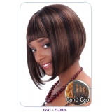 NEW BORN FREE Synthetic Wig: 1241 FLORIS (FUSION BAND CAP)