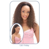 NEW BORN FREE Demi Cap Synthetic Half Wig: 1261 FRIDAY
