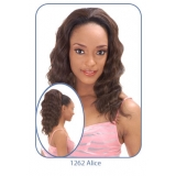 NEW BORN FREE Demi Cap Synthetic Half Wig: 1262 ALICE