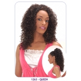 NEW BORN FREE Demi Cap Synthetic Half Wig: 1263 QUEEN