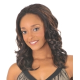 NEW BORN FREE Demi Cap Synthetic Half Wig: 1265 CAMILA