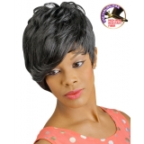 NEW BORN FREE Demi Cap Synthetic Half Wig: 1288 ZOE
