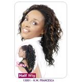 NEW BORN FREE Demi Cap Synthetic Half Wig: 13001 FRANCESCA