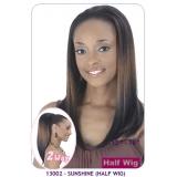 NEW BORN FREE Demi Cap Synthetic Half Wig: 13002 SUNSHINE