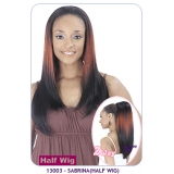 NEW BORN FREE Demi Cap Synthetic Half Wig: 13003 SABRINA