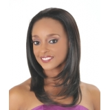 NEW BORN FREE Demi Cap Synthetic Half Wig: 13015 JINNY
