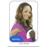 NEW BORN FREE Demi Cap Synthetic Half Wig: 2235 AURORA