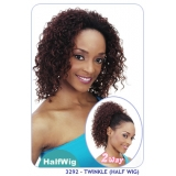 NEW BORN FREE Demi Cap Synthetic Half Wig: 3292 TWINKLE