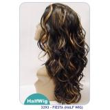 NEW BORN FREE Demi Cap Synthetic Half Wig: 3293 FIESTA
