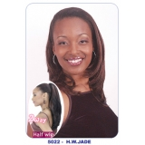 NEW BORN FREE Demi Cap Synthetic Half Wig: 5022 JADE