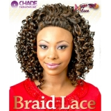 New Born Free Magic Braid Synthetic Lace Front Wig - MLB05
