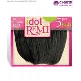 New Born Free Idol Remi Human Weave Extensions - IRHB05 REMI BOB 5PCS