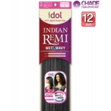 New Born Free Idol Indian Hair Weave Extensions - INJ12S WET&WAVY (JERRY CURL) 12s