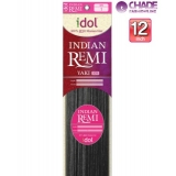 New Born Free Idol Indian Hair Weave Extensions - INY12S YAKI 12s