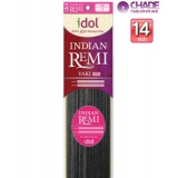 New Born Free Idol Indian Hair Weave Extensions - INY14S YAKI 14s
