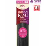 New Born Free Idol Indian Hair Weave Extensions - INY16S YAKI 16s