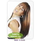 NEW BORN FREE 100% Human Hair Wig: 9009H ELLEN