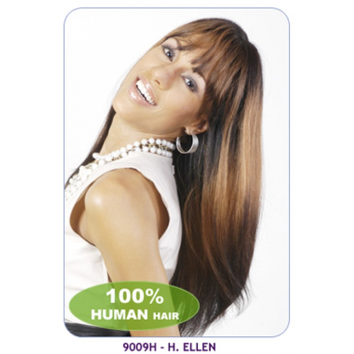 New Born Free 100 Human Hair Wig 9009h Ellen
