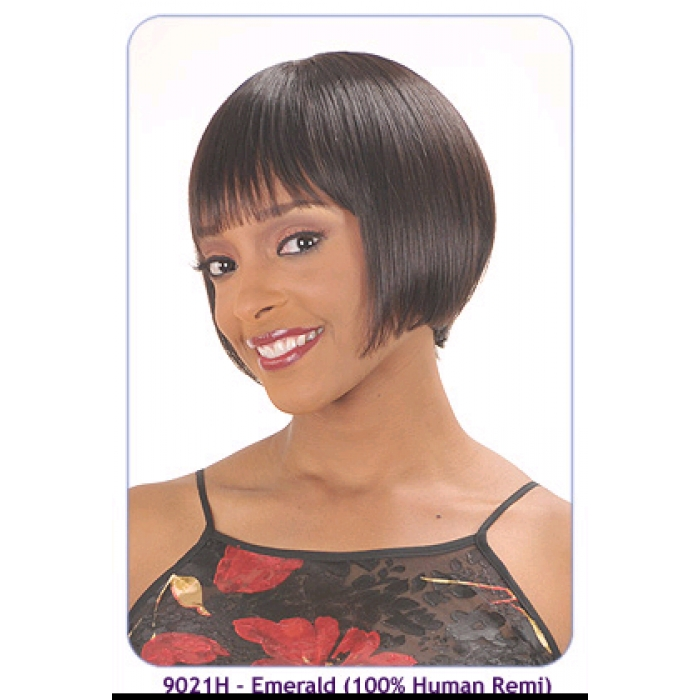 New Born Free 100 Human Remi Wig 9021h Emerald