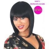 NEW BORN FREE 100% Human Remi Wig: 9024H LILAC