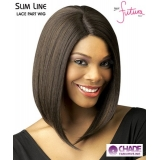 New Born Free Lace Front Wig - SLW04 SLIM LINE LACE PART WIG 04 Synthetic Lace Front Wig