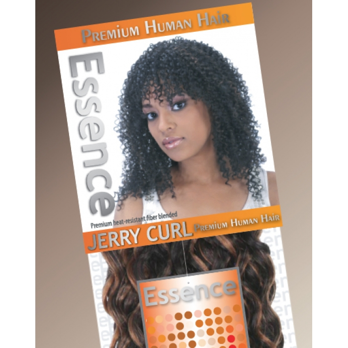 Essence Jerry Curl 14 Human Hair Weave Extensions