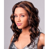 NEW BORN FREE Synthetic Magic Lace front Wig: ML103(combo hand-tied)