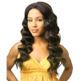 NEW BORN FREE Synthetic Magic Lace front Wig: ML104(combo hand-tied)