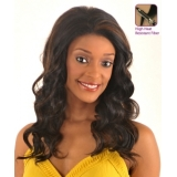 NEW BORN FREE Synthetic Magic Lace front Wig: ML45 (Hand-tied)