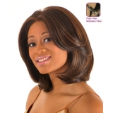 NEW BORN FREE Synthetic Magic Lace front Wig: ML48 (Hand-tied)