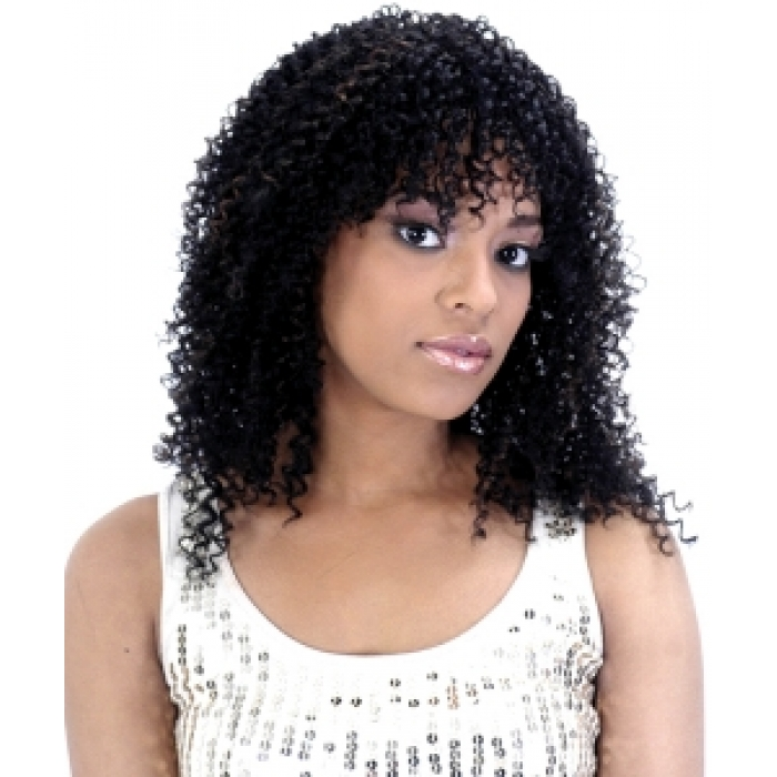 Essence Jerry Curl Weaving Human Blended 18 Inch
