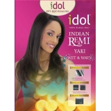 IDOL INDIAN 100% Human Remi Yaki Weave 10s