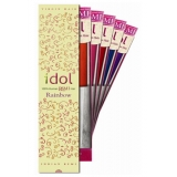 "IDOL 100% Human Remi HAIR YAKI WEAVING Rainbow 10"": IRRY10"