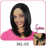 NEW BORN FREE Synthetic Magic Lace front Wig: ML02